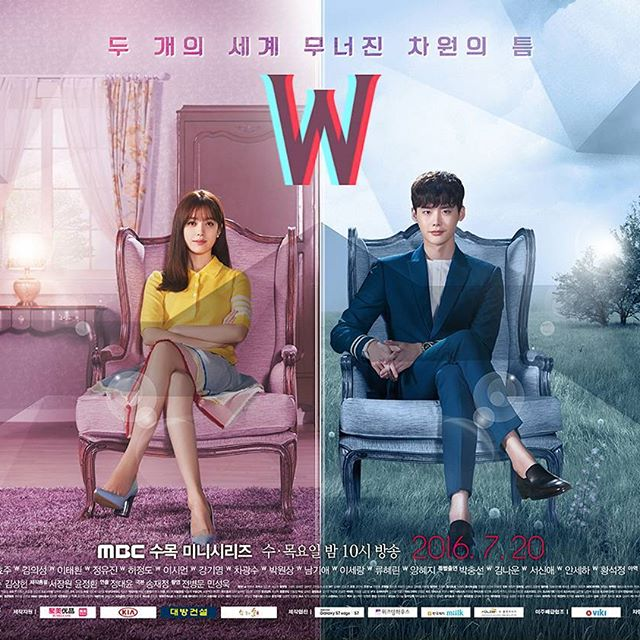 Review Drama Korea W: Two Worlds Apart (2016)